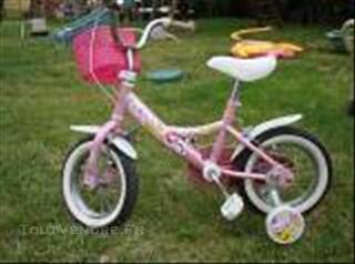 Vélo 14 pouces 3/5 ans à roulettes  toulouse ou gers