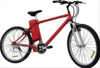 Vélo à Assistance Electrique VTT Noir ou Rouge Mecer