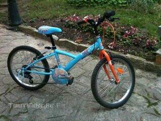 Vélo B'Twin enfant 20 pouces 6/8 ans