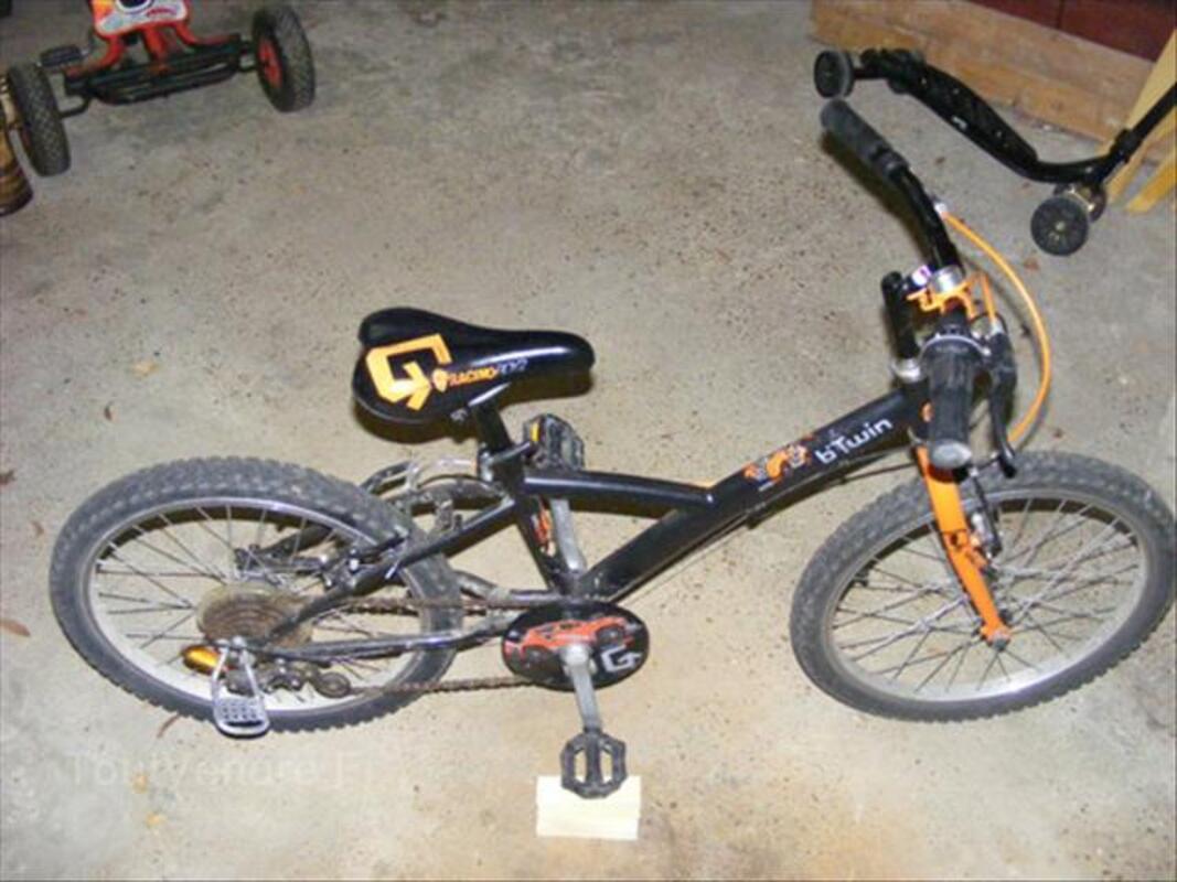 "Vélo b'twin racing boys II 20"" 66096954"