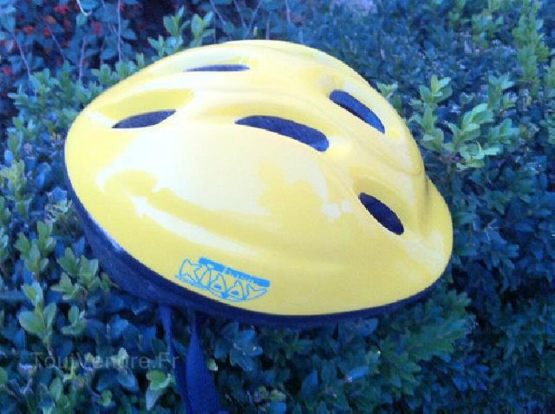 Vélo bleu enfant de 3 à 6 ans + casque 91258711