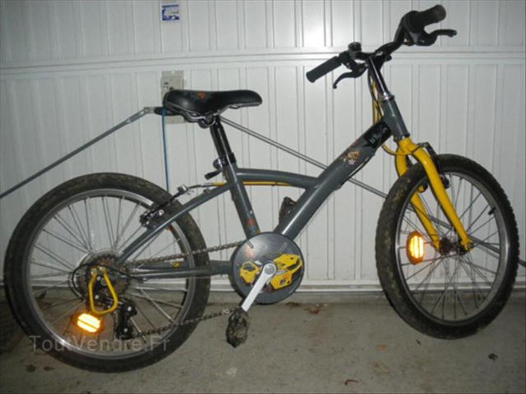 Vélo decathlon garçon 20 pouces (5-8ans) 54434666