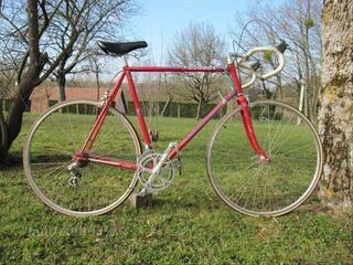 Vélo demi course