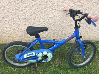 Vélo enfant 16 pouces Décathlon