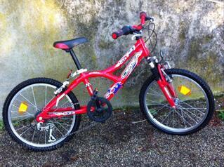 Vélo enfant 6 à 10 ans ORBEA Rider rouge