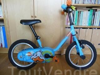 Vélo enfant B't'win 14 pouces
