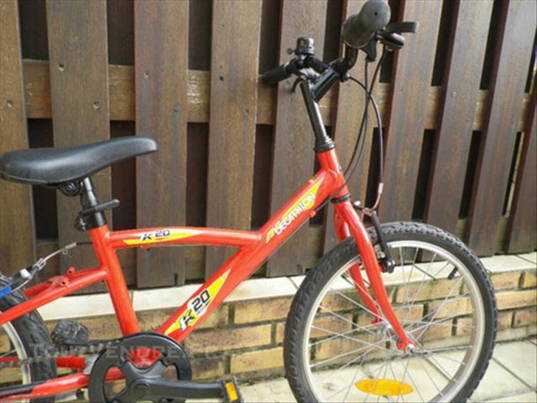Vélo enfant Decathlon 20 pouces 75916795