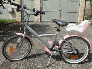 Vélo enfant fille