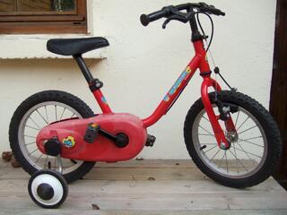 Vélo enfants 14 pouces Décathlon