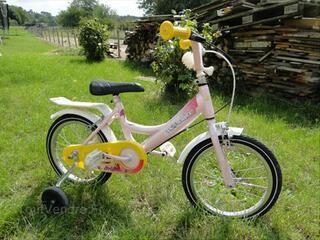 Vélo fille 14 pouces topbike