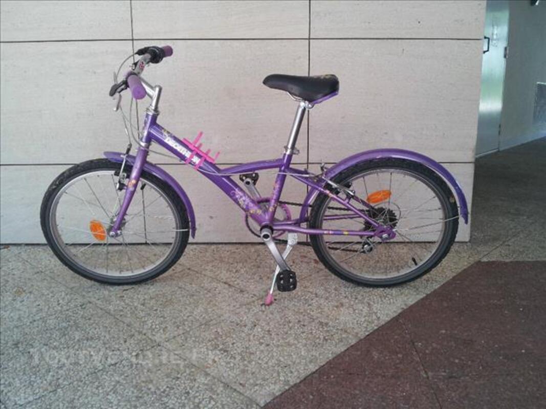 Vélo fille 20 pouces décathlon 77549576