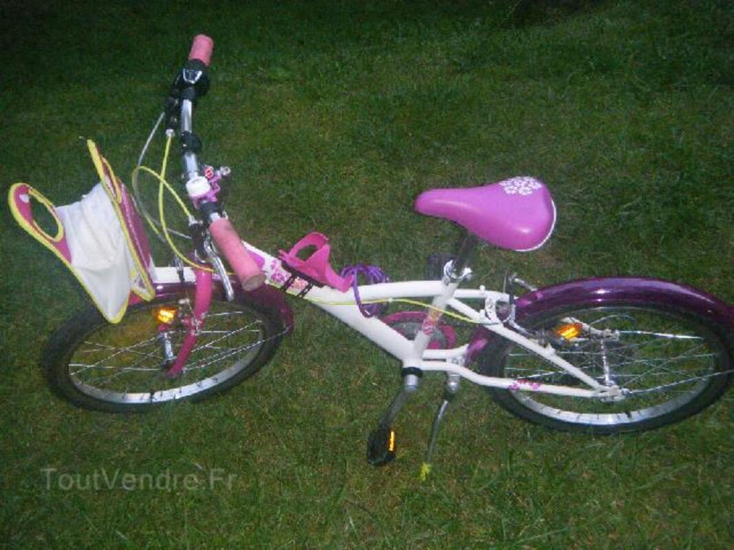 Vélo fille 20 pouces 102818785