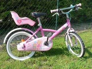 Vélo fille Décathlon 16 pouces