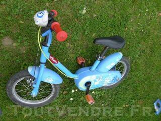 Vélo garçon décathlon warfy 14 pouces 4-5 ans