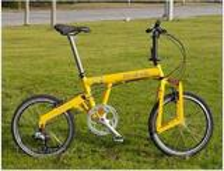 Vélo pliant ultra léger 8,9 Kg, roues 20 p suspendues
