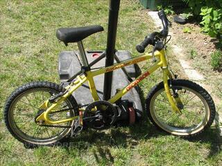 Vélo rockrider decathlon 16 pouces