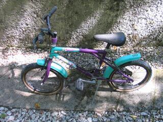 Vélo solide à restaurer pour enfants