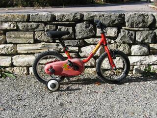 Vélo Velo enfant 14 pouces 3 à 5 ans - casque offert