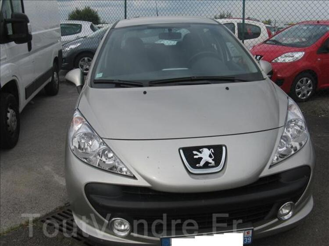 Vend 207 Peugeot couleur Champagne 50717809