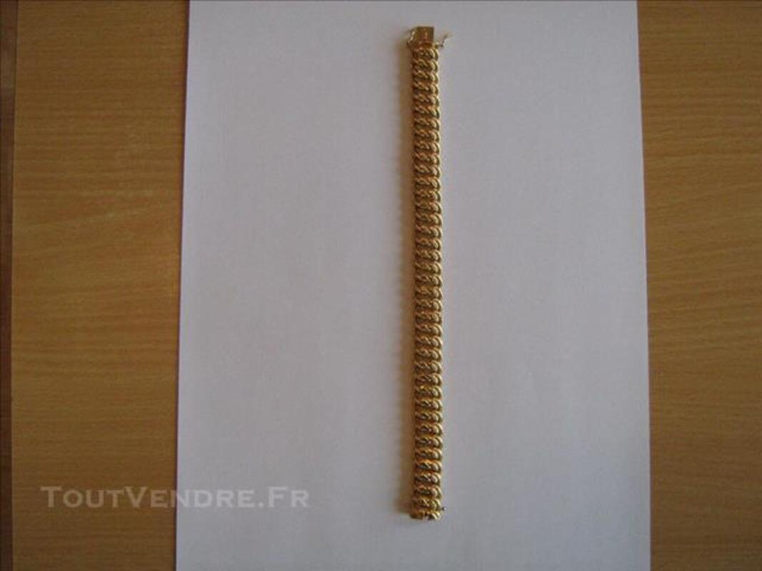 Vend BRACELET, COLLIER et BROCHE en OR 18 carats 85705685