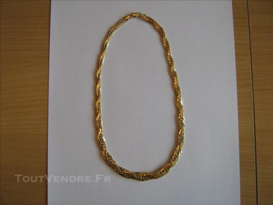 Vend BRACELET, COLLIER et BROCHE en OR 18 carats 85705686