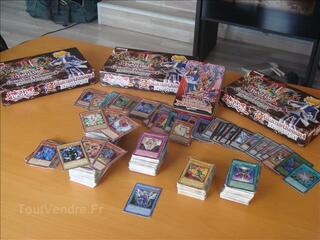 Vend collection de cartes 863 yu-gi-oh