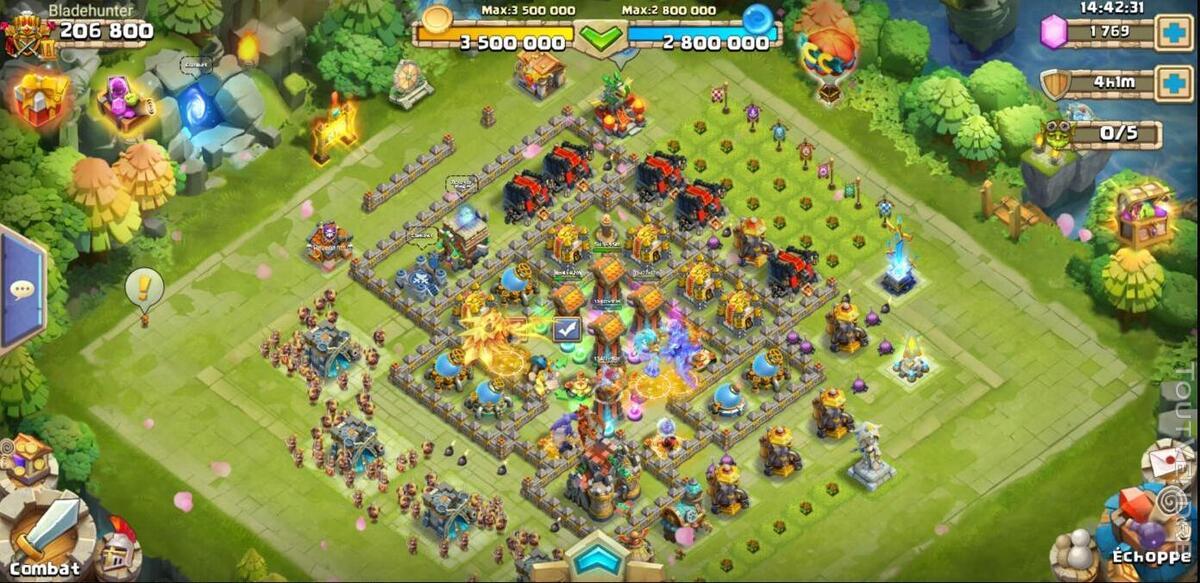 Vend compte castle clash 507869873