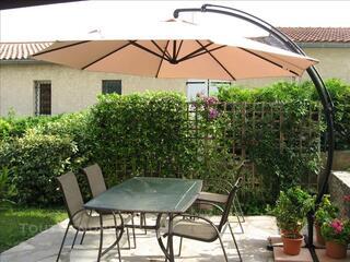 Vend grand parasol de jardin