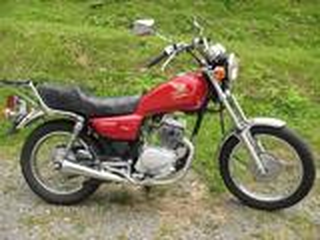 Vend Moto Honda 125 CM
