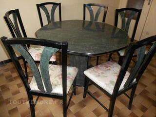 Vend table et 6 chaises salle à manger