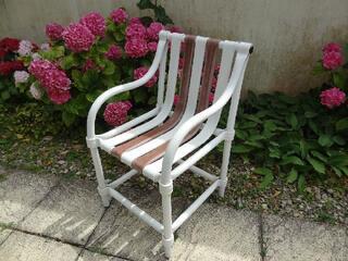 Vends 4 fauteuils de jardin Grosfilex, en BE