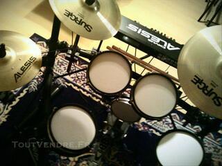 Vends Batterie Alesis Dm5 Pro Kit+cymbales ALESIS SURGE