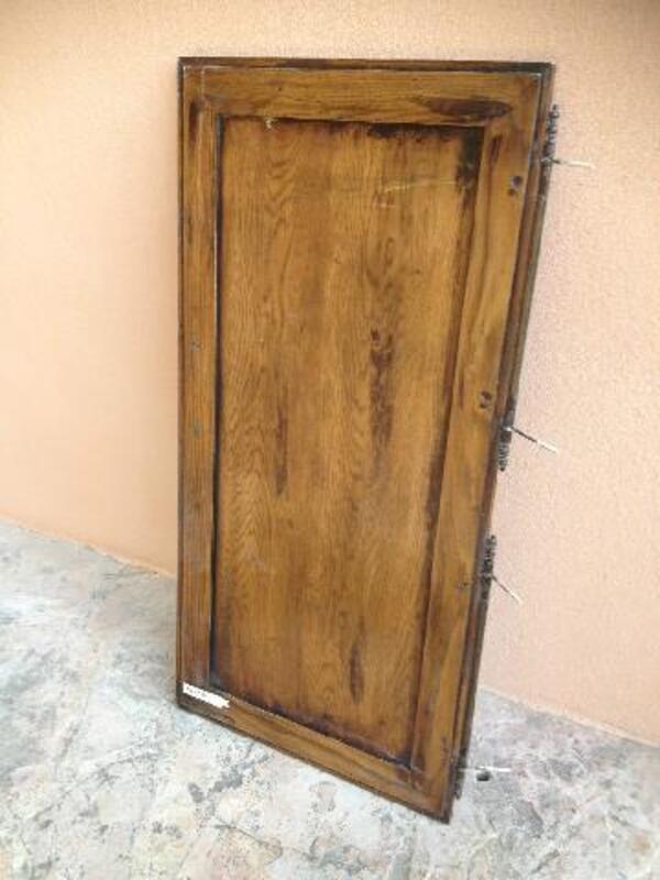 Vends belle porte en chêne pour réaliser un placard 95924968