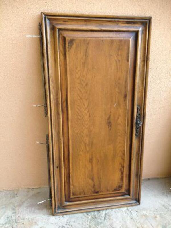 Vends belle porte en chêne pour réaliser un placard 95924969