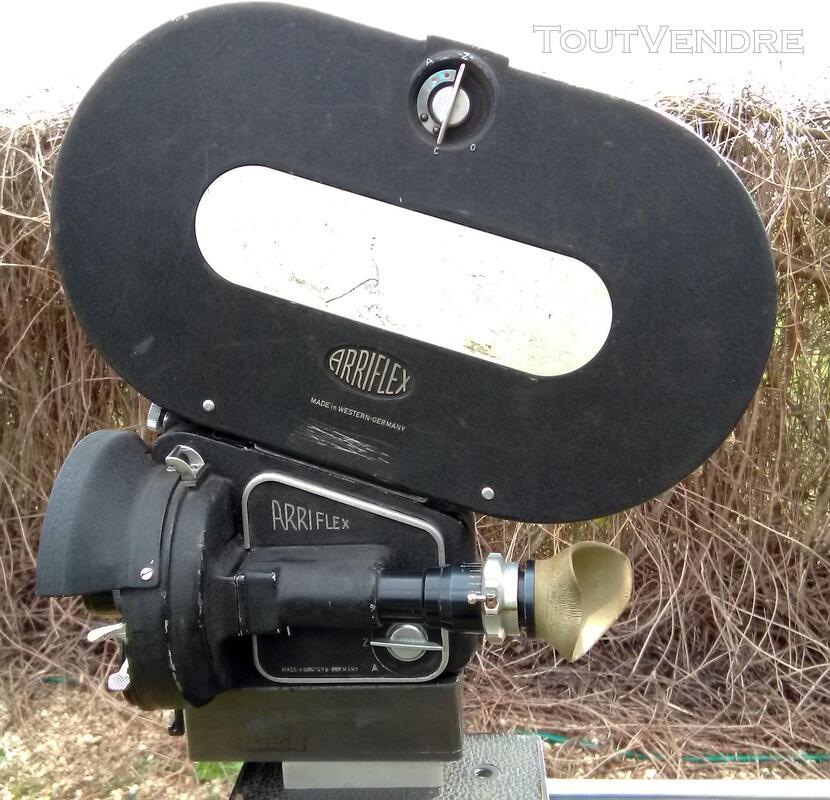 VENDS CAMERA FILM ARGENTIQUE 35MM ARRIFLEX IIB 1960 full kit 501067922