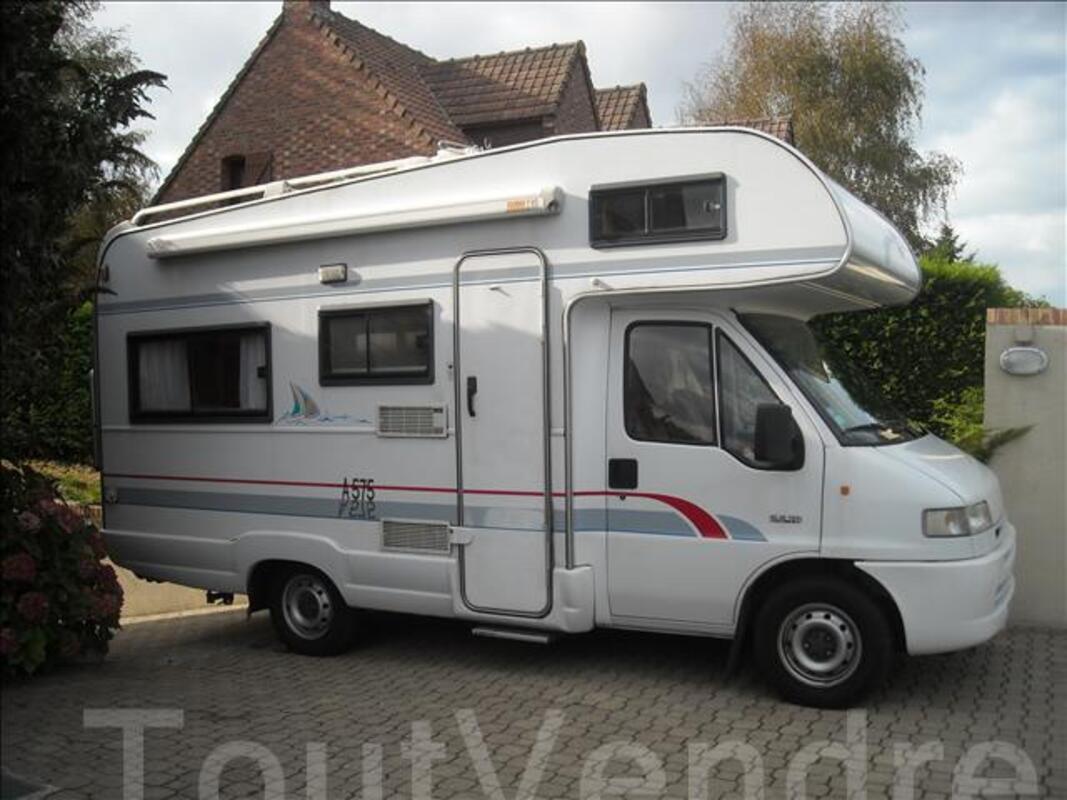 Vends Camping Car Bürstner A575   Type capucine an 1996 46870262