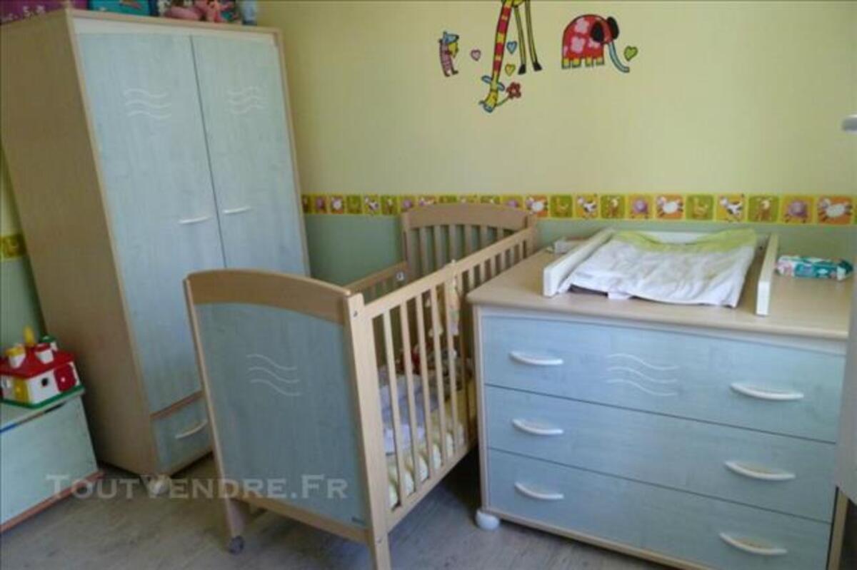 Vends chambre complète bébé Aubert pastel 84752331