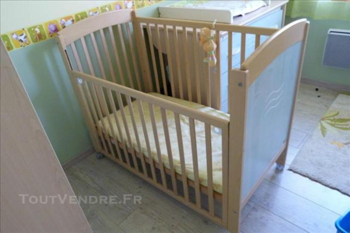 Vends chambre complète bébé Aubert pastel 84752332