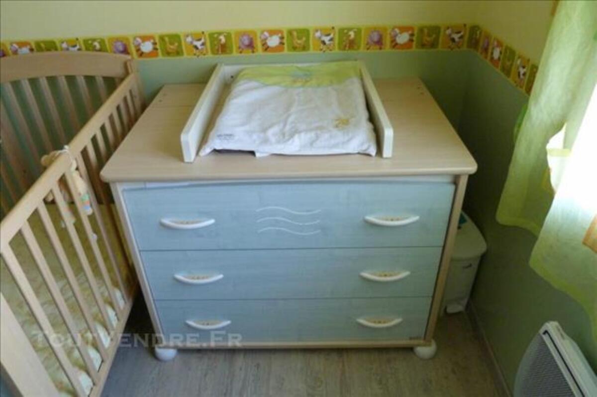 Vends chambre complète bébé Aubert pastel 84752333