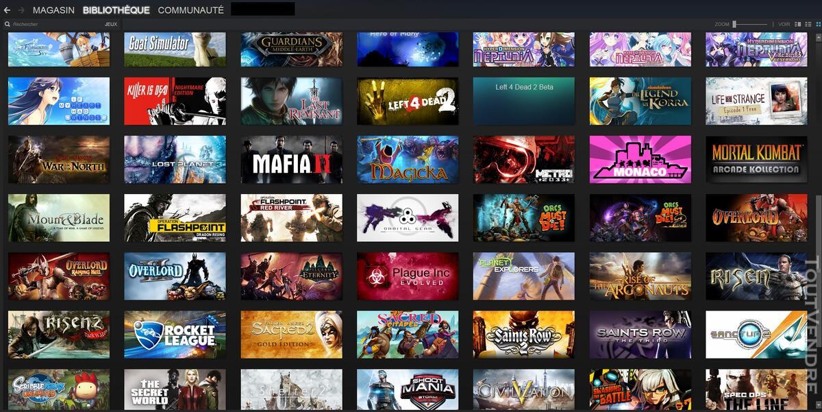 Vends Compte Steam 103 jeux ! 139100455