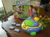 VENDS CONSOLE LEAPSTER TV