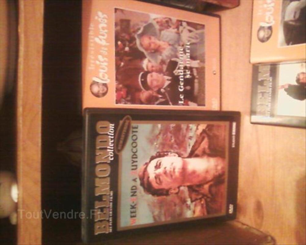 Vends films dvd avec J-P Belmondo et Louis De Funès 54677539