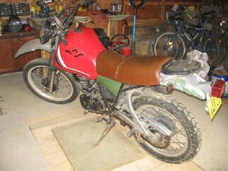 Vends ma Yamaha 400 XT