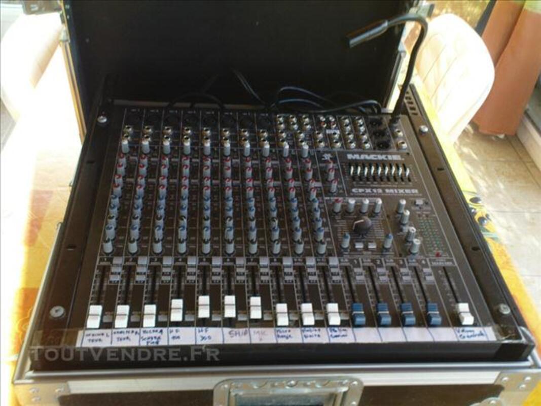 Vends materiel sonorisation 75715580