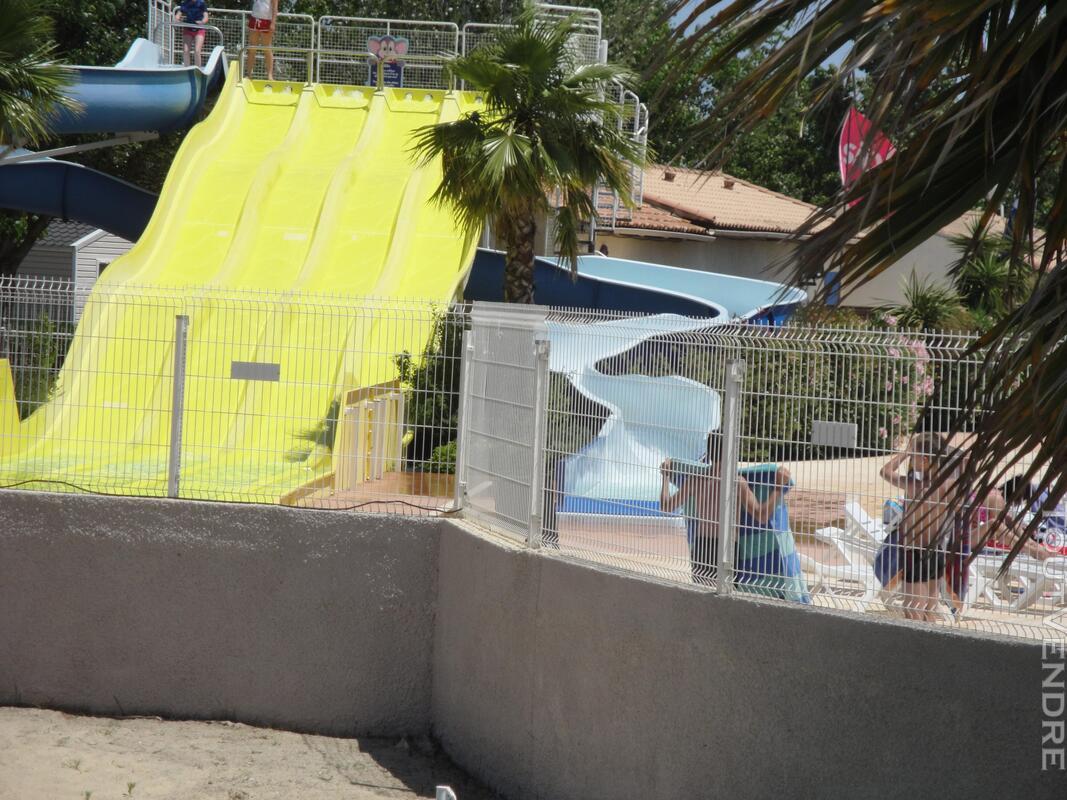 Vends mobihome dans camping à VIAS plage 34450 712648998