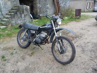 Vends moto 125Harley