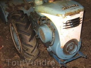 Vends motoculteur STAUB  PPX S 6