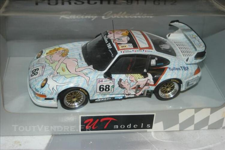 Vends porsche 1/18  ut model 85806803