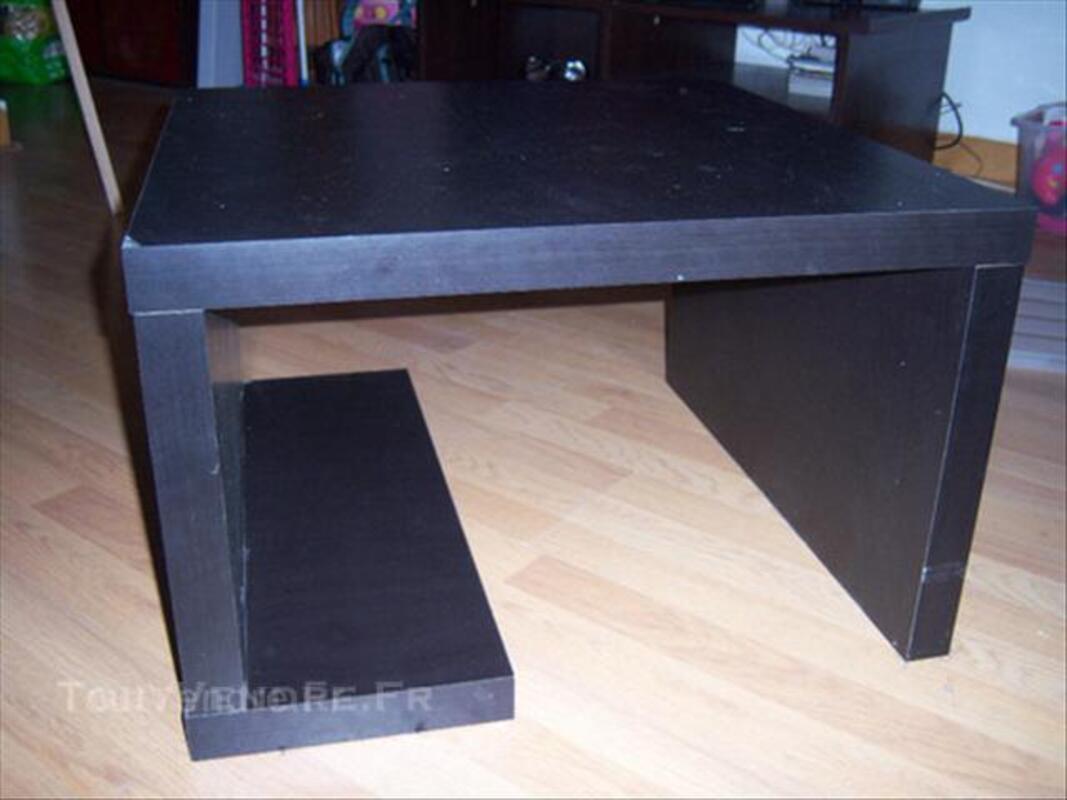 Vends table basse wengé carrée 43914668