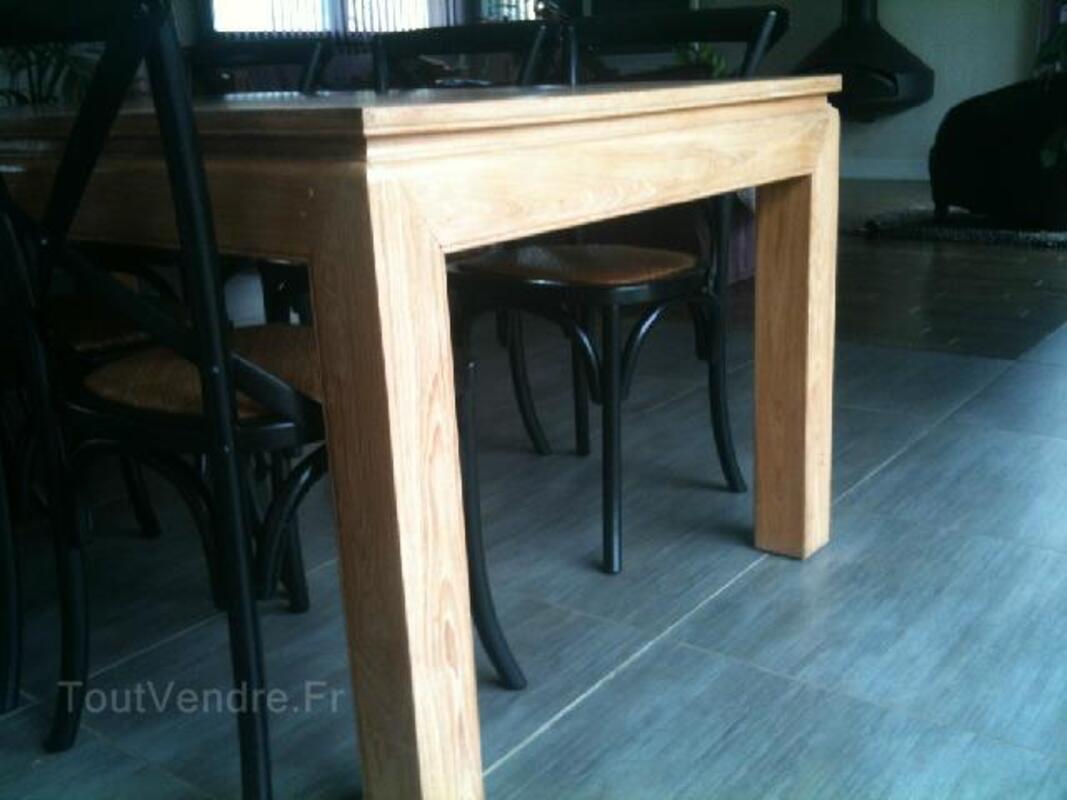 Vends table salle à manger design bois 95269232